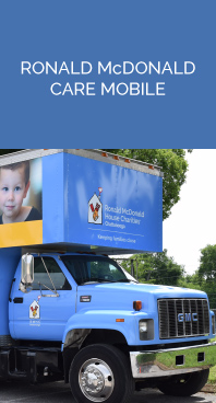 Ronald McDonald House - CHATTANOOGA CARE MOBILE - Providing access to healthcare where children need it most. Learn more.